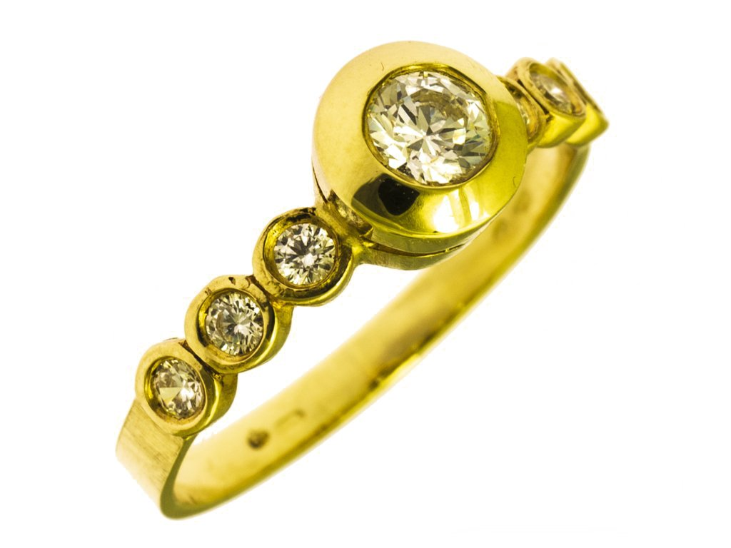 prsten ze zluteho zlata g756a