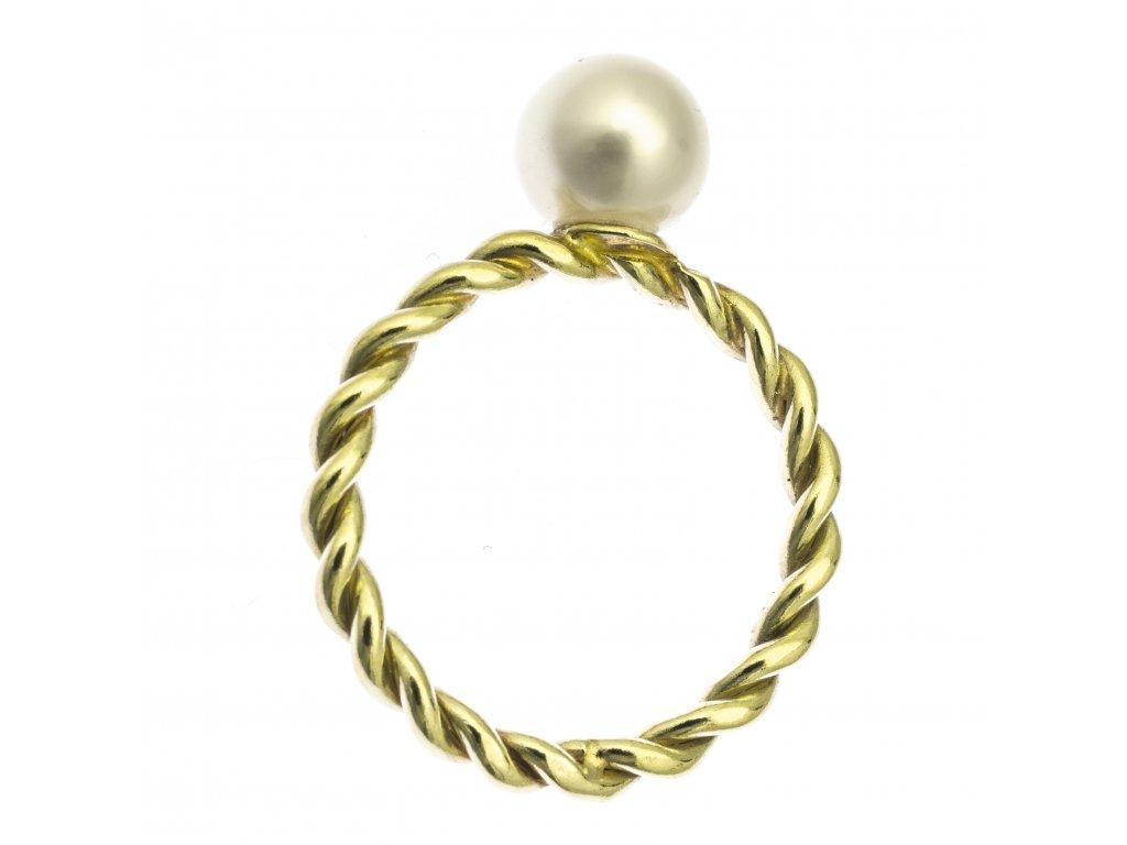 Zlatý prsten G722