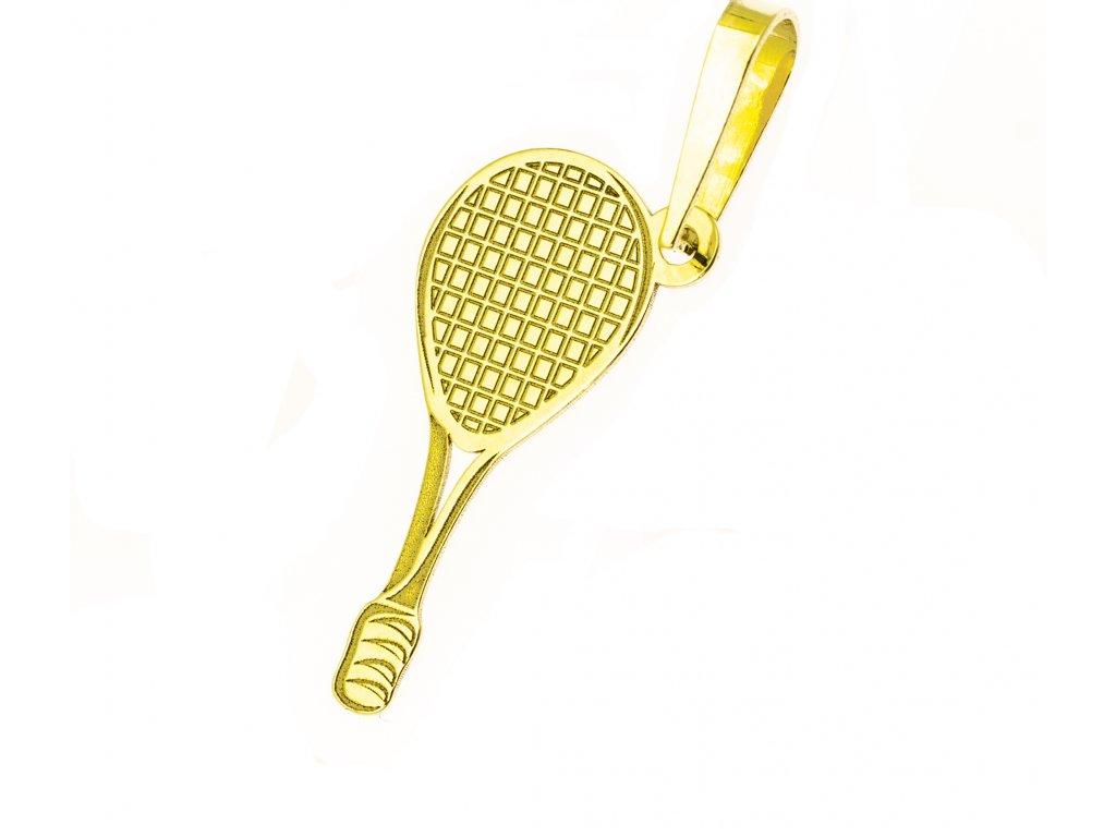 Přívěšek ze žlutého zlata H905