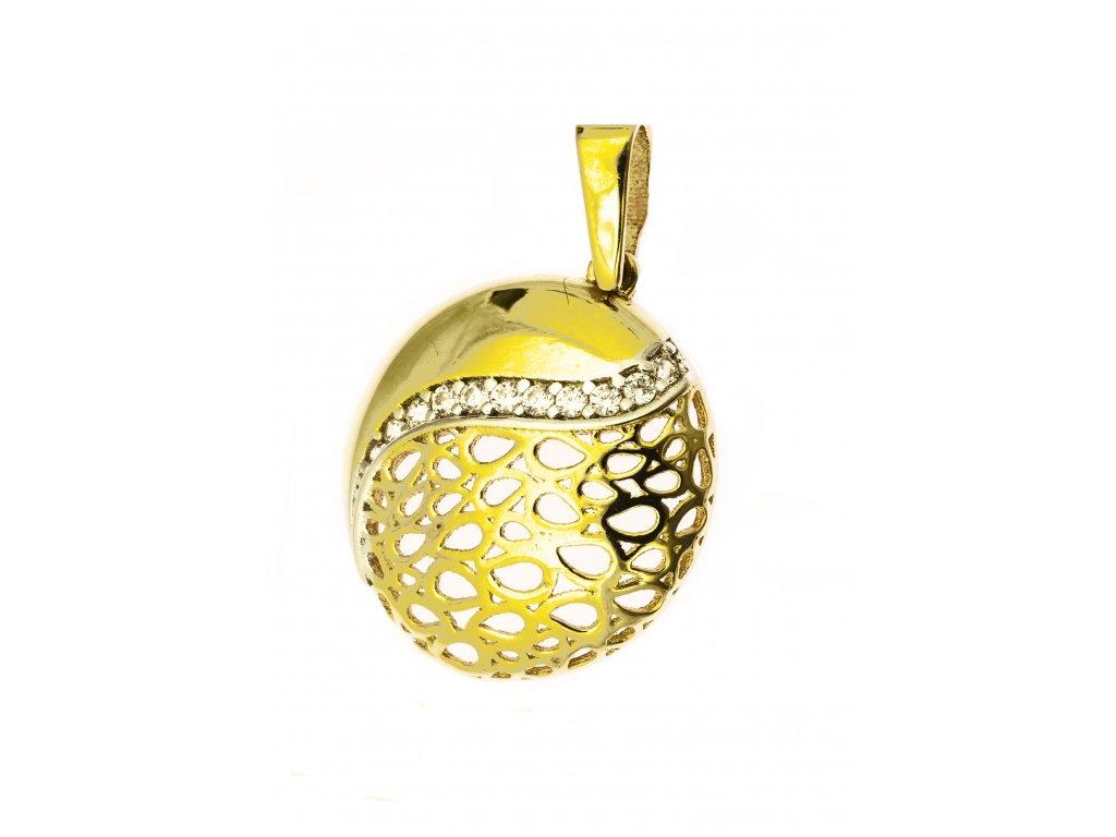 Přívěšek ze žlutého zlata H946
