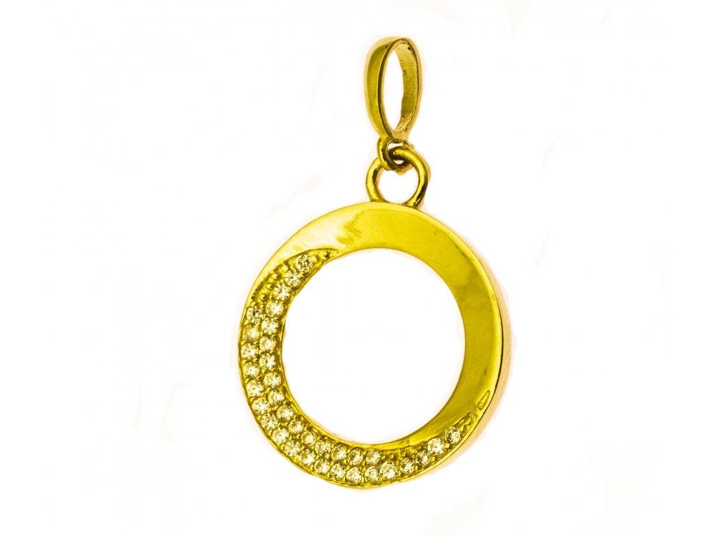 Přívěšek ze žlutého zlata H947