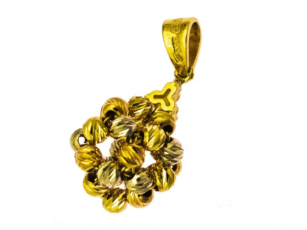Přívěšek ze žlutého zlata H902