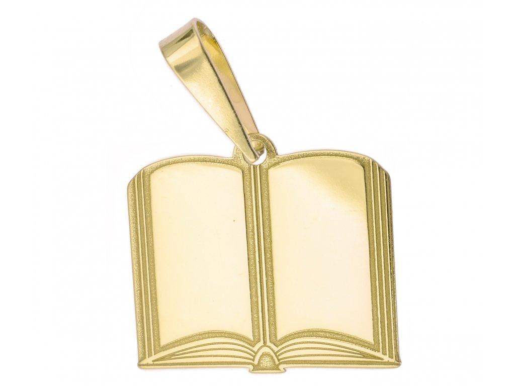Přívěšek ze žlutého zlata H966