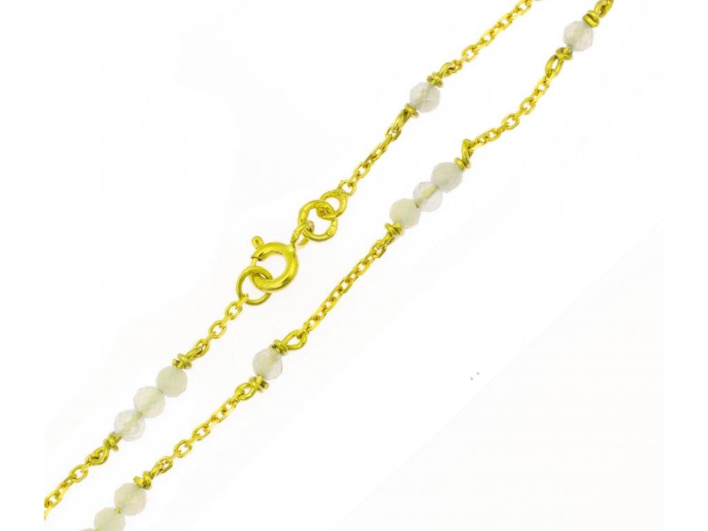 Náramek ze žlutého zlata D431