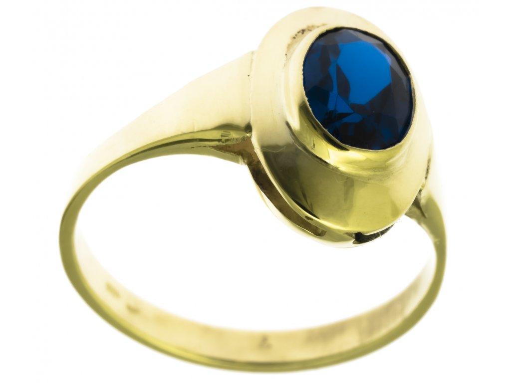 Zlatý prsten G759