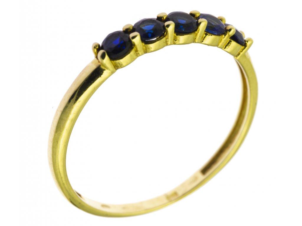 Zlatý prsten G726