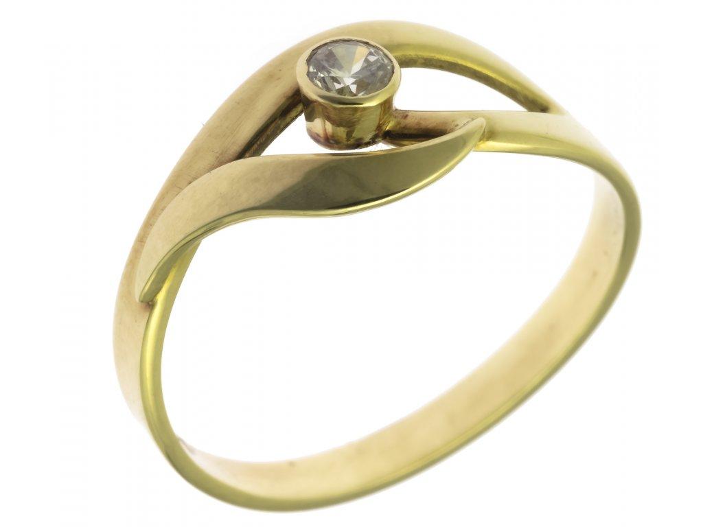 Zlatý prsten G371