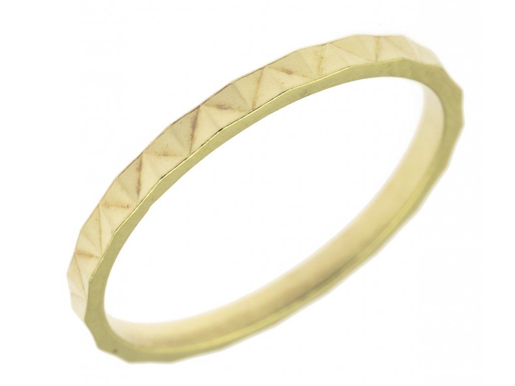 Zlatý prsten G710