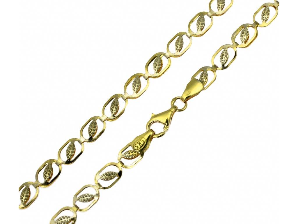 Zlatý řetízek D893