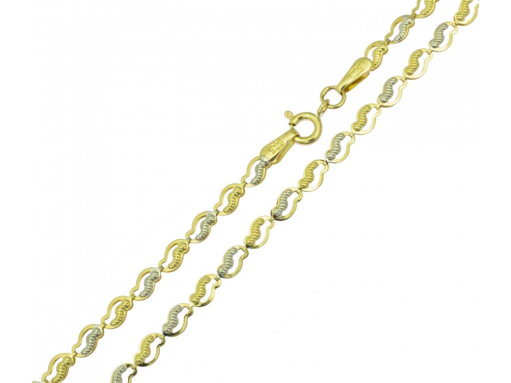 Řetízek ze žlutého zlata K097