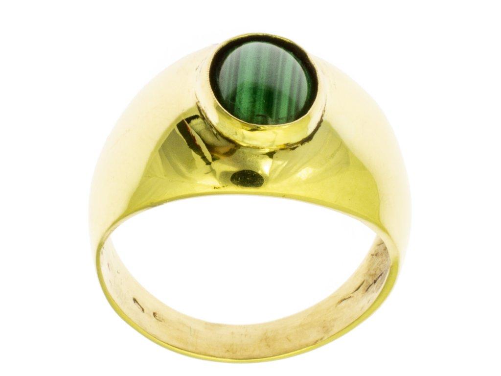 Zlatý prsten ze žlutého zlata G074