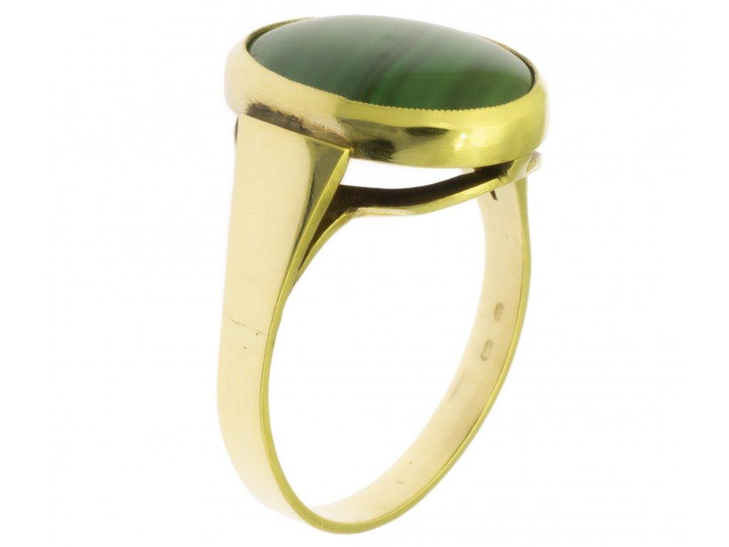 Zlatý prsten ze žlutého zlata G372