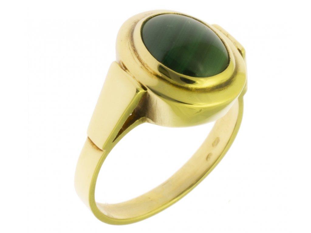 Zlatý prsten ze žlutého zlata G181