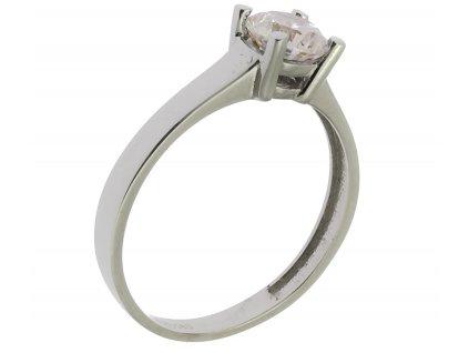 Prsten z bílého zlata G853