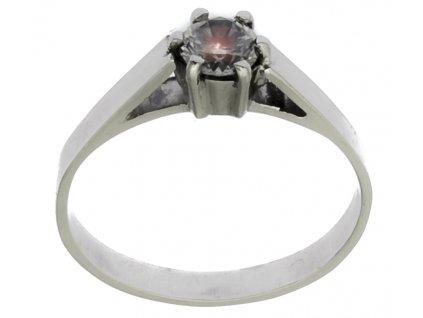 Prsten z bílého zlata G872