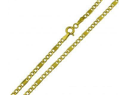 Zlatý řetízek K174