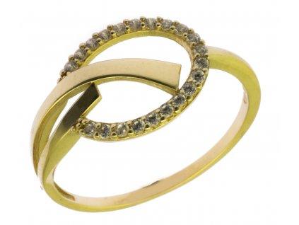 Zlatý prsten ze žlutého zlata G911