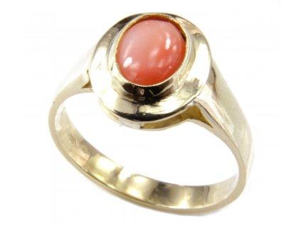 Prsten ze žlutého zlata  G142