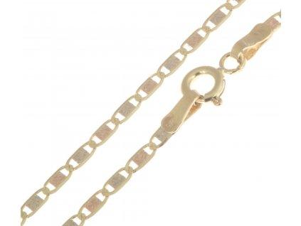 Zlatý řetízek Žebříček D511