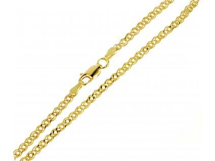 Zlatý náramek D312