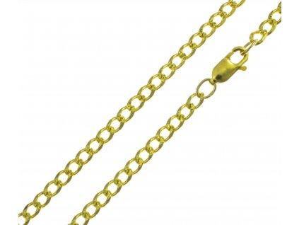 Zlatý řetízek PANCR D852