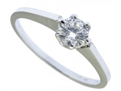 Prsten z bílého zlata G760