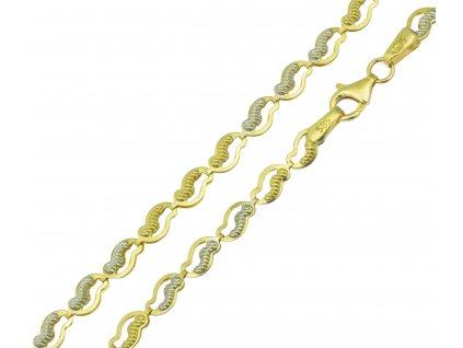 Řetízek ze žlutého zlata K093