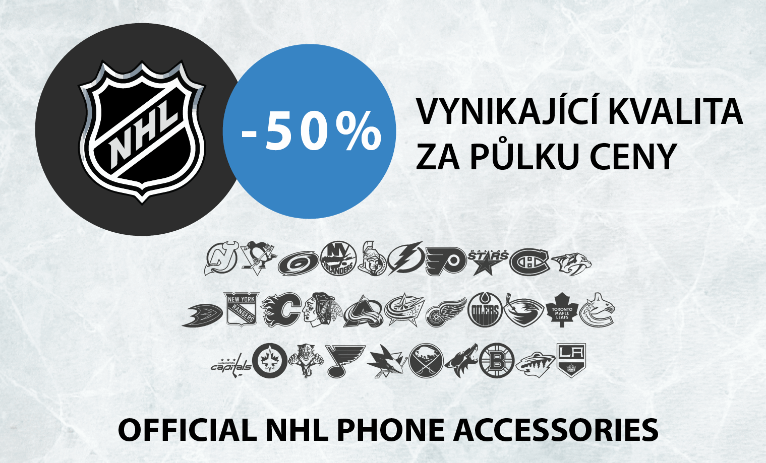 Sleva NHL 50 procent