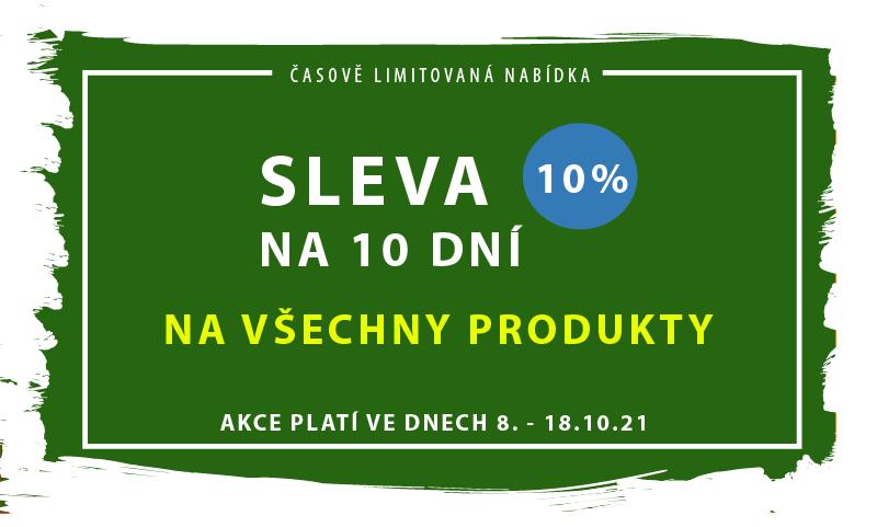 sleva 10 % na 10 dní - JHMobil.cz
