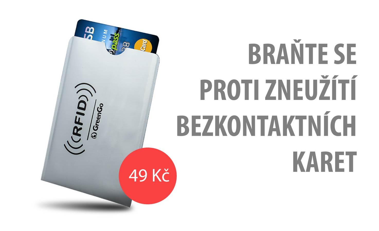ochrana bezkontaktních platebních karet