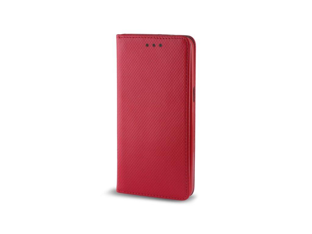 Pouzdro Smart Magnet pro Huawei P Smart 2019 / Honor 10 Lite červené