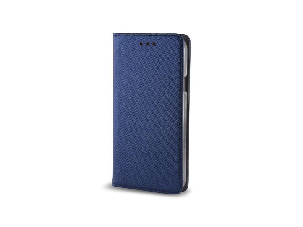 Pouzdro Smart Magnet pro Huawei Y6 Prime 2018 / Honor 7A modré