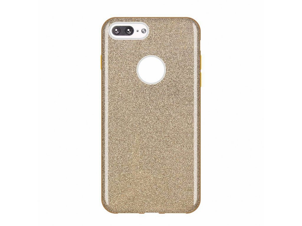 "Pouzdro Glitter Case pro iPhone 7 Plus / 8 Plus (5,5"") zlaté"