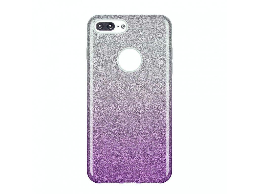 "Pouzdro Glitter Case pro iPhone 7 Plus / 8 Plus (5,5"") fialové"