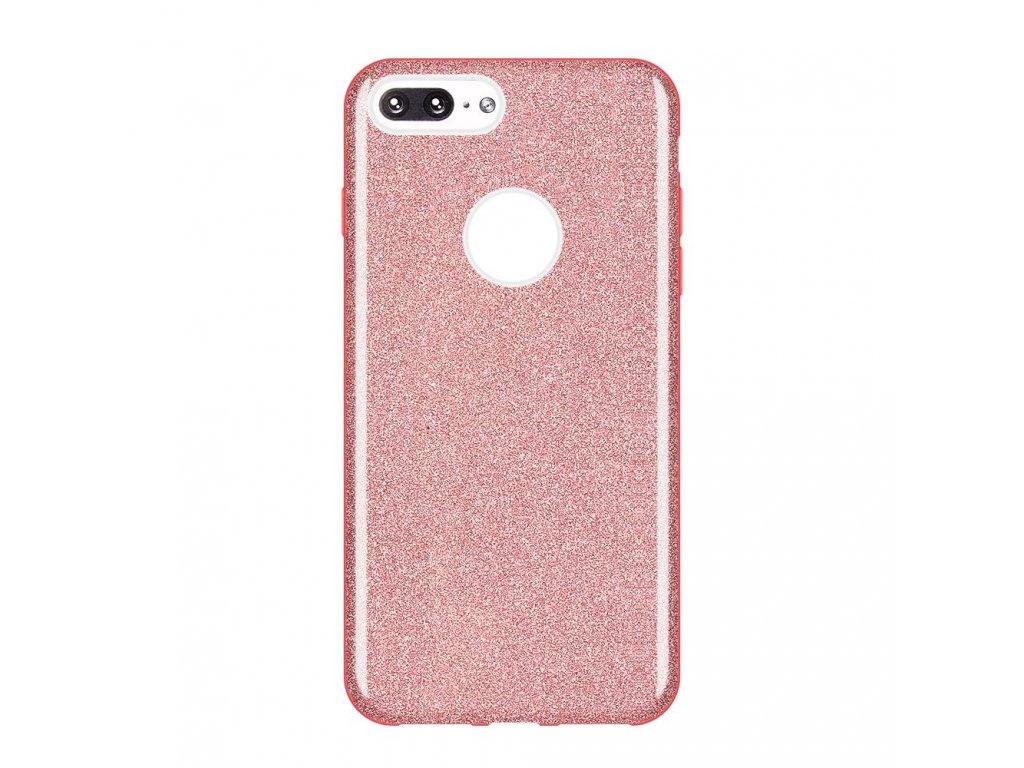 """Pouzdro Glitter Case pro iPhone 7 Plus / 8 Plus (5,5"""") světle růžové"""