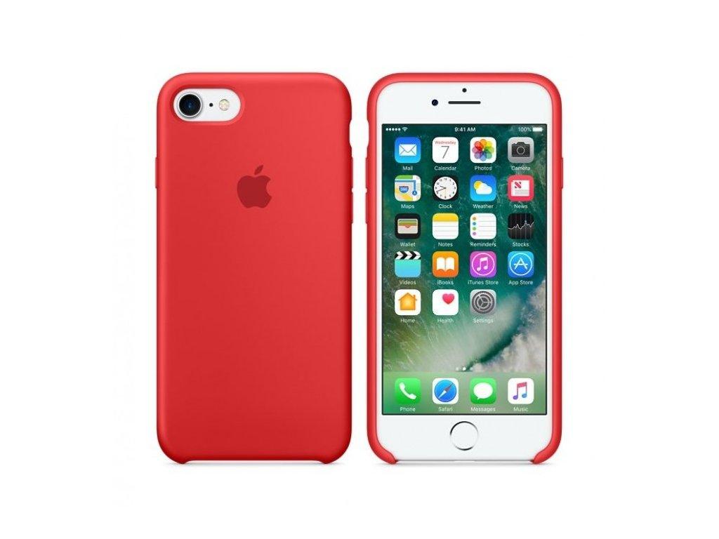 """Apple MMWN2ZM/A pouzdro iPhone 7/8 (4,7"""") červené (volně, rozbaleno)"""