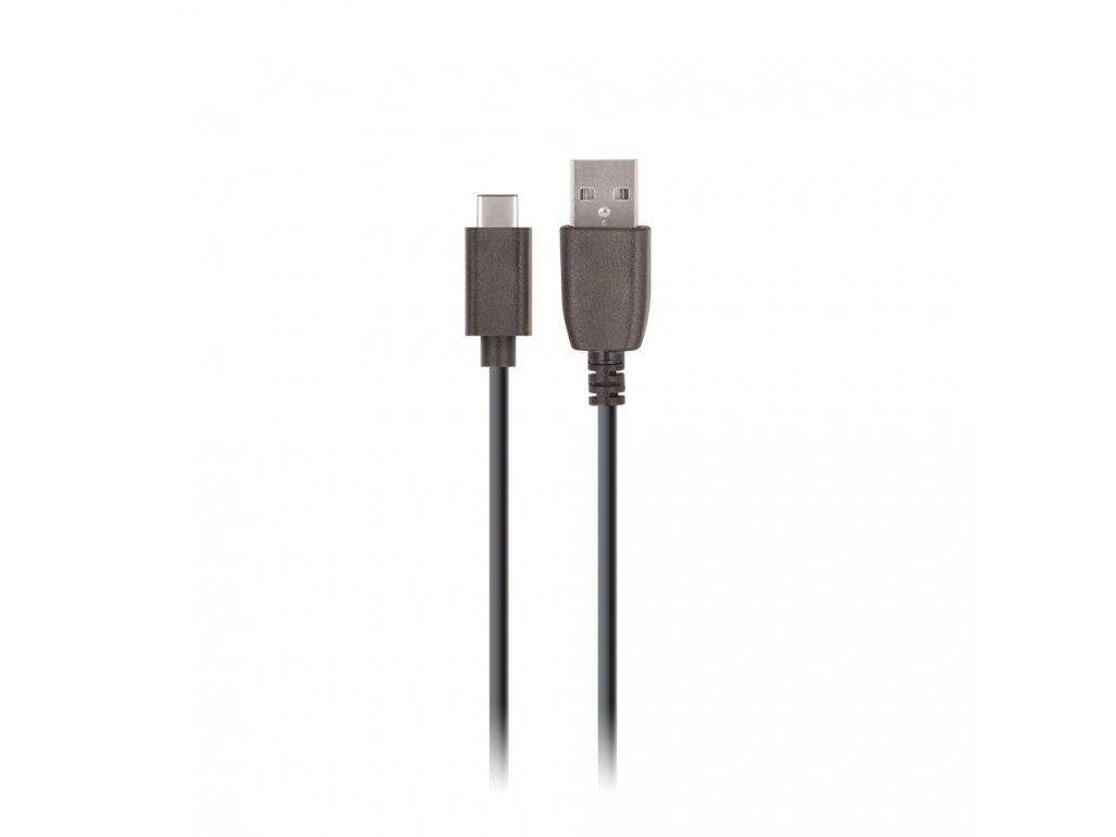 Setty kabel USB-C 3m / 2A - černý