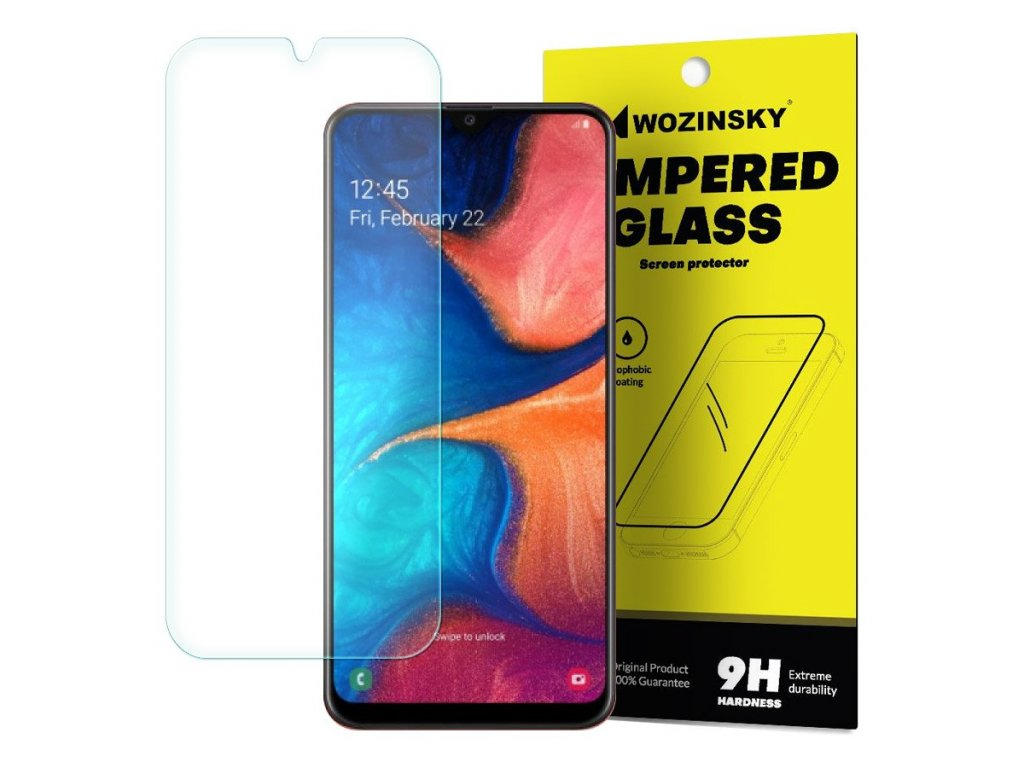 Wozinsky tvrzené sklo pro Samsung A20e (9H) 7426825371010