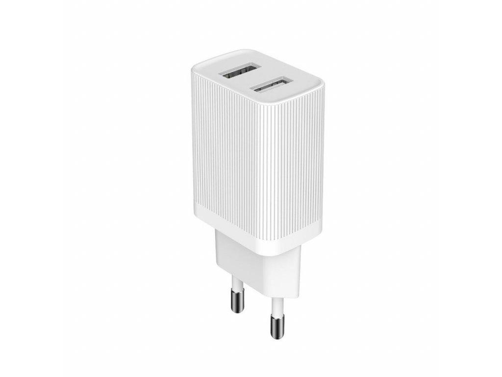 KingKong WP-U79 nabíječka 2 x USB (2,1A) bílá