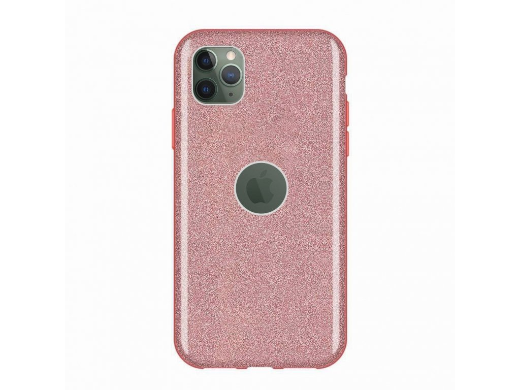 Pouzdro Glitter Case pro iPhone 11 PRO růžové