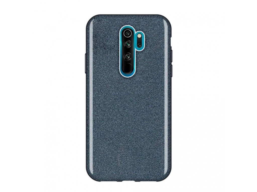 Pouzdro Glitter Case pro Xiaomi RedMi Note 8 PRO černé