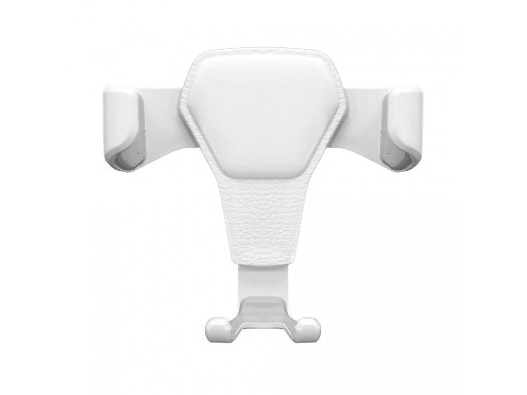 OEM H01 gravity univerzální držák do mřížky ventilátoru bílý