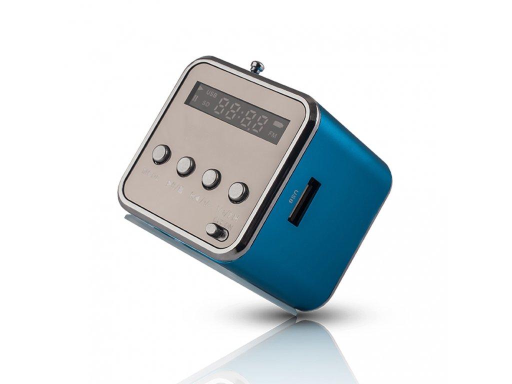 SETTY MF-100 Bluetooth reproduktor s rádiem modrý