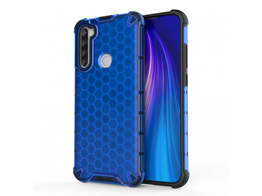 HoneyComb Armor Case odolné pouzdro pro Xiaomi RedMi NOTE 8T modré