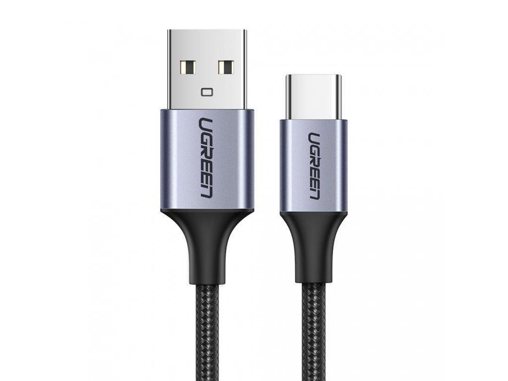 Ugreen USB kabel - USB-C / QC 3.0 / 0,5m / 3A černý