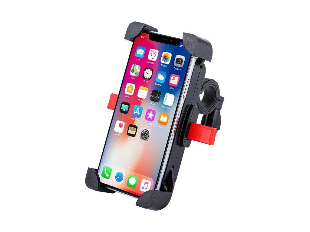 Univerzální držák mobilu na kolo / motocykl černý