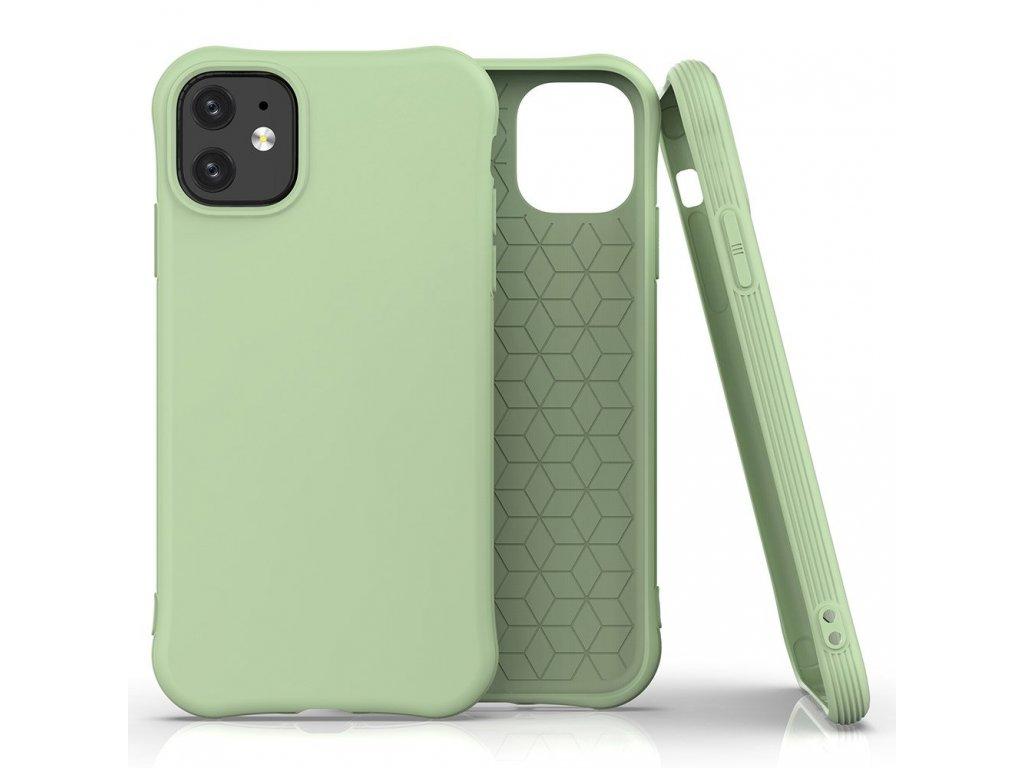 Pouzdro Soft Color Case pro iPhone 12 Mini zelené