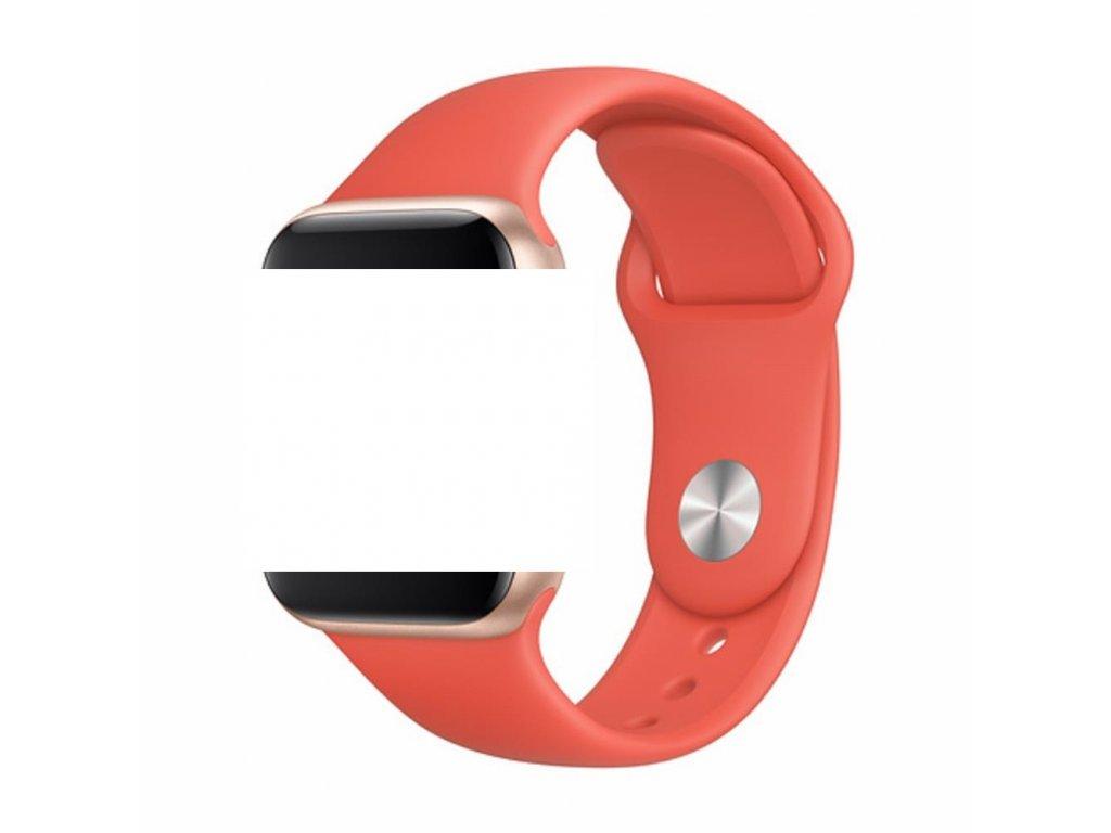 Devia Deluxe Sport řemínek k Apple Watch 1/2/3/4/5/SE 38mm/40mm nectarine