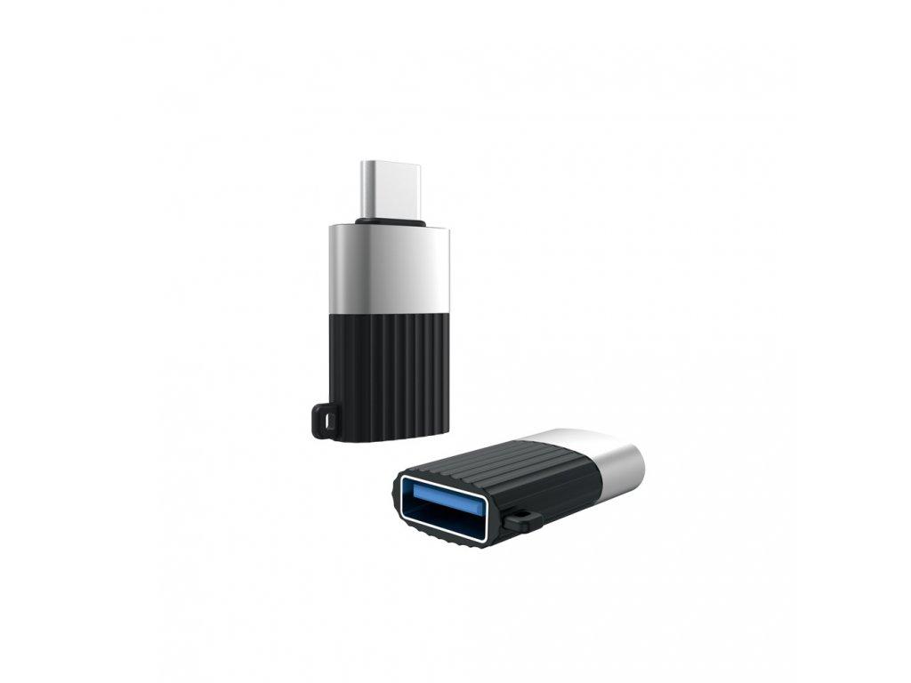 XO NB149-F adaptér USB na USB-C černý