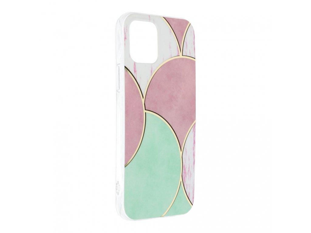 "Marble Cosmo Case pouzdro pro iPhone 12 / 12 PRO (6,1"") white"